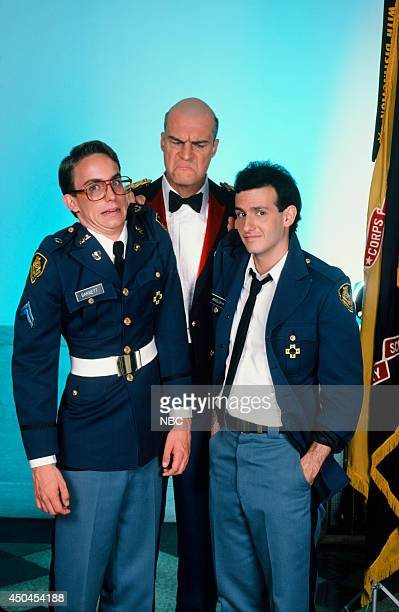 MOVIES Combat High Gallery Pictured Wallace Langham as Perry Barnett Richard Moll as Col Felix Long Sr Keith Gordon as Max Mendelsson