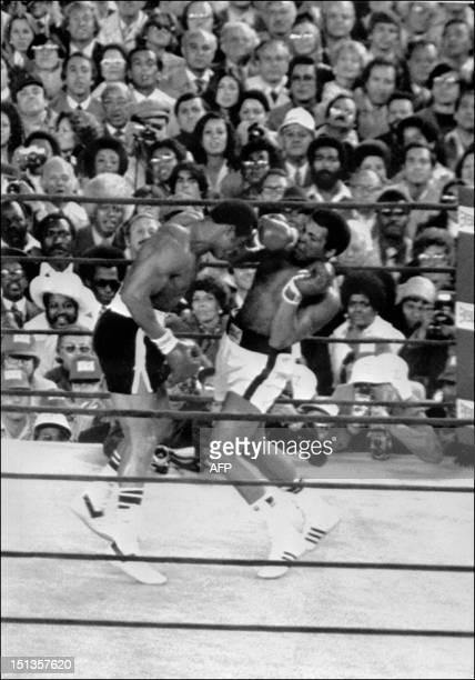 Combat à l'issu duquel Mohamed Ali conservait son titre de champion du monde de boxe des poids lourds face à son compatriote Ken Norton le 28...