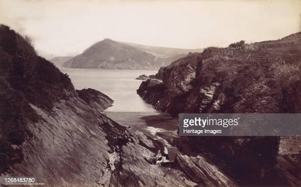 Combe Martin Bay, 1870s. Artist Francis Frith.