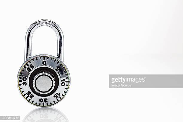 combination lock - padlock stock photos and pictures