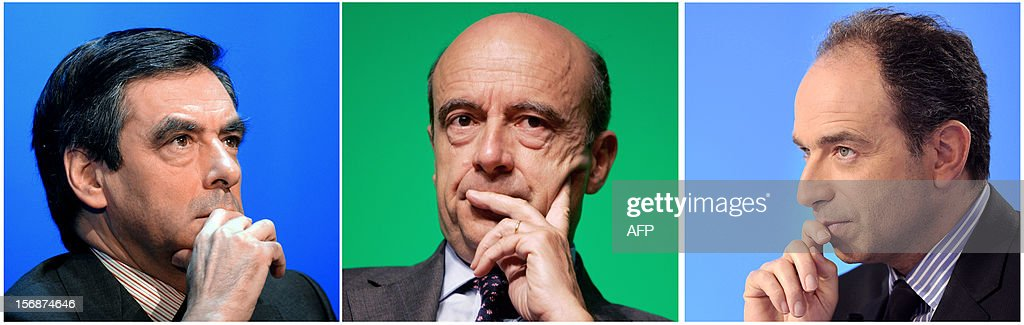 - A combination made on November 23, 2012 shows three file pictures, one of former French Prime minister Francois Fillon (L) taken on March 31, 2011 in Saint-Malo, the other of former Prime minister Alain Juppe taken on June 18, 2007 in Bordeaux and the last one taken on March 28, 2012 in Paris showing UMP general secretary Jean-Francois Cope. Jean-Francois Cope, the right-winger who was declared the winner of Sunday's vote for UMP presidency and his centrist rival Francois Fillon have agreed to a mediation by Alain Juppe intended to establish who actually won.