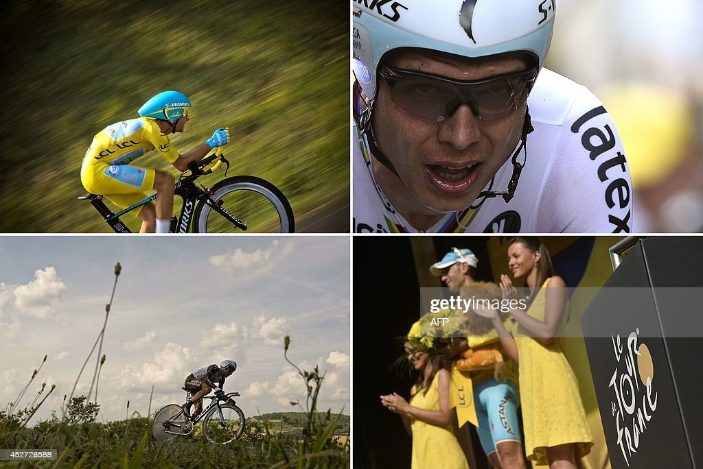 CYCLING-FRA-TDF2014-COMBO : News Photo