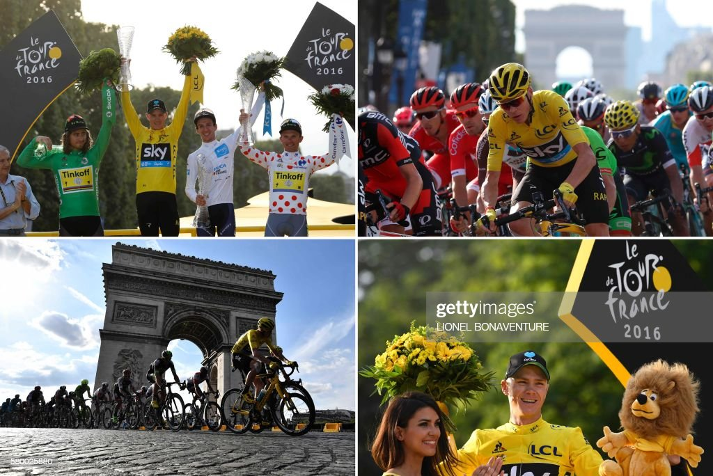 CYLCING-FRA-TDF2016-COMBO : News Photo
