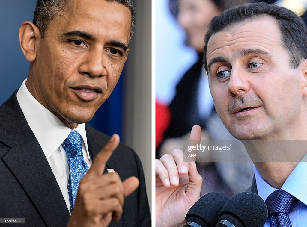 US-SYRIA-CONFLICT-DIPLOMACY : News Photo