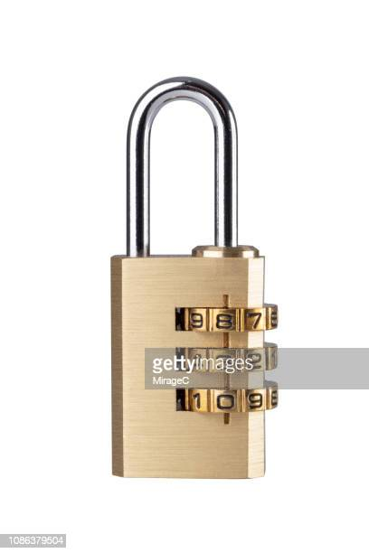 combination padlock closed - unlocking stock pictures, royalty-free photos & images