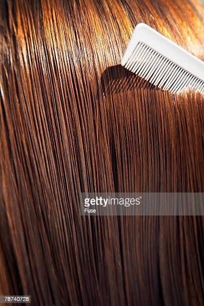Combing Brown Hair