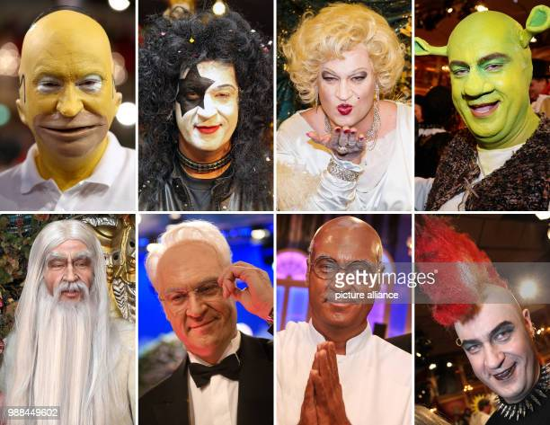 FILE A combo depicts the Bavarian Minister of Finances Markus Soeder in different costumes on the occasion of the carnival celebration of the...