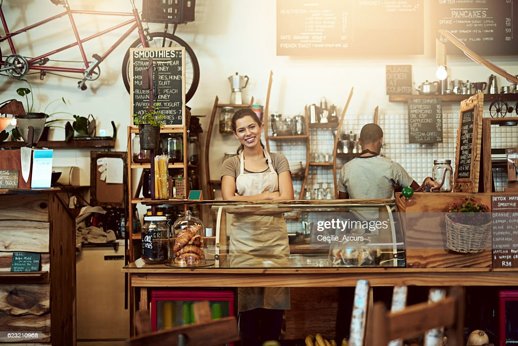 Come and have some coffee with us : Stock Photo