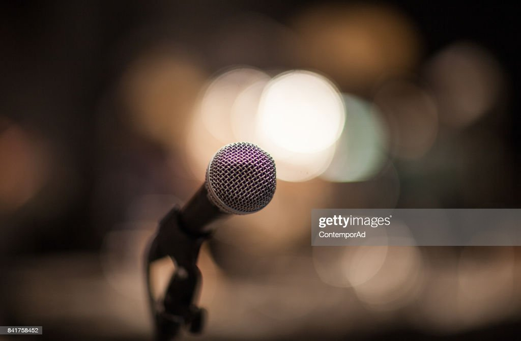 come and sing : Foto de stock