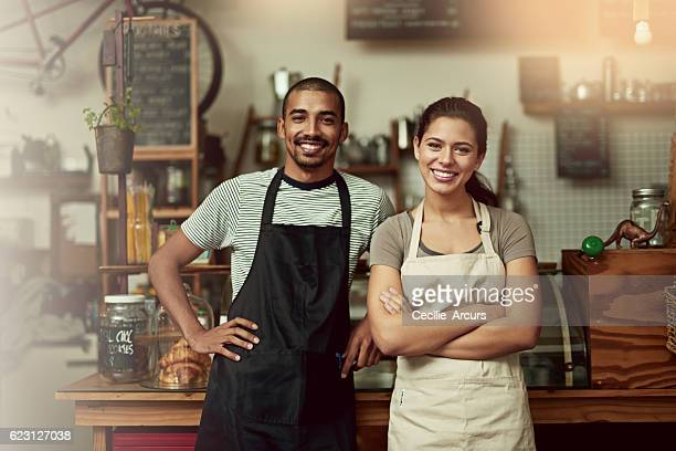 Come in, meet your barista team