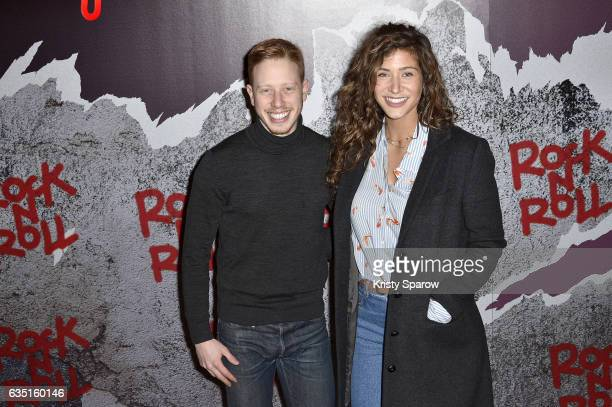 Come Levin and Manon Azem attend the Rock'N Roll Premiere at Cinema Pathe Beaugrenelle on February 13 2017 in Paris France