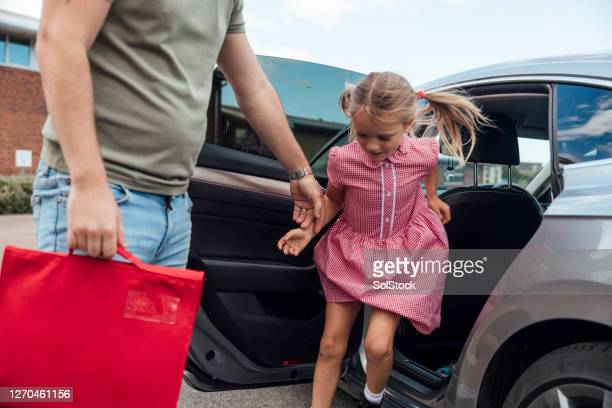 come on little one - getting out stock pictures, royalty-free photos & images