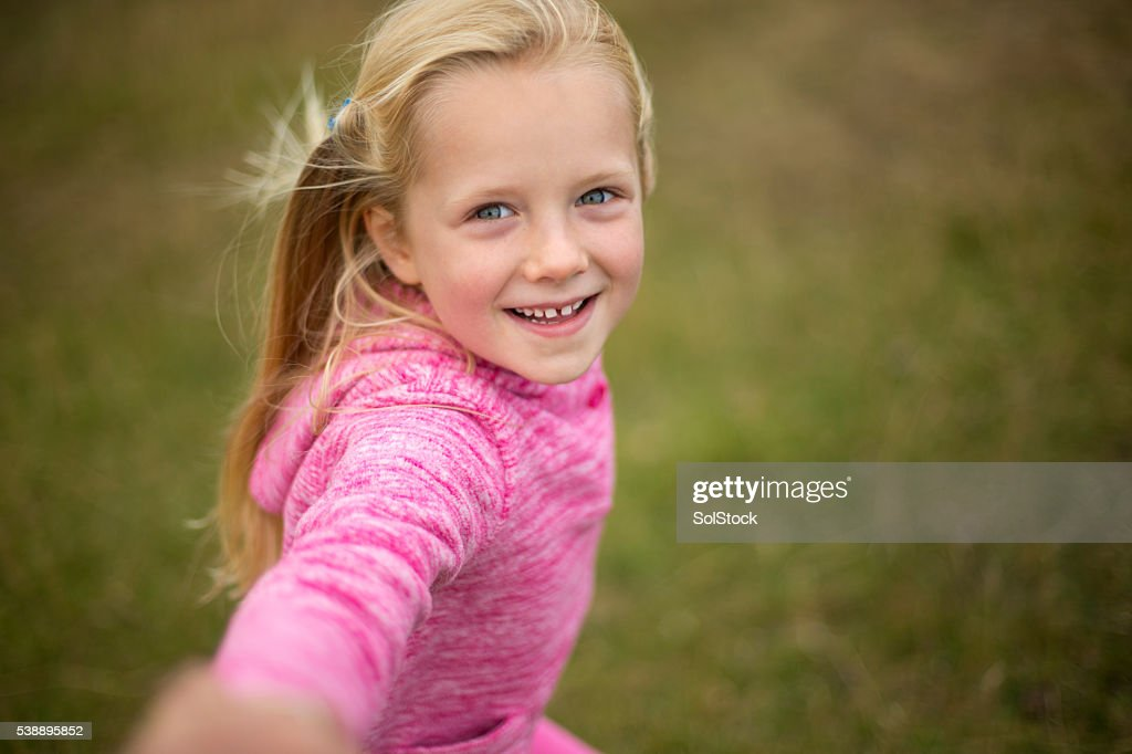 Come play with me! : Stock Photo