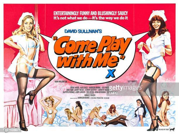 Come Play With Me poster Mary Millington 1977