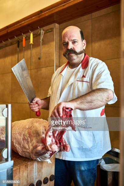 Kom naar mijn slagerij als u kwaliteitsvlees wilt