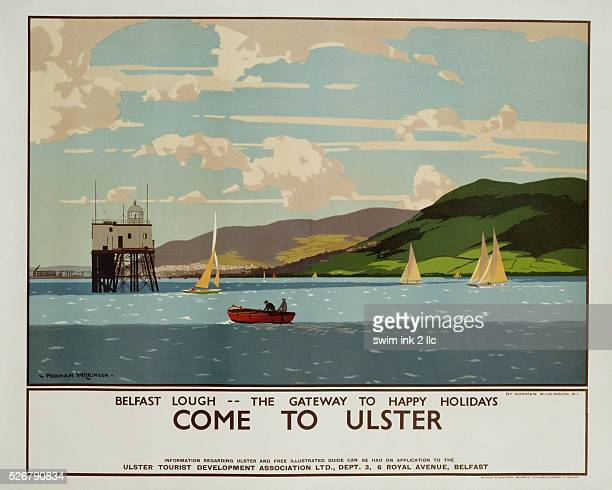 Come to Ulster Poster by Norman Wilkinson