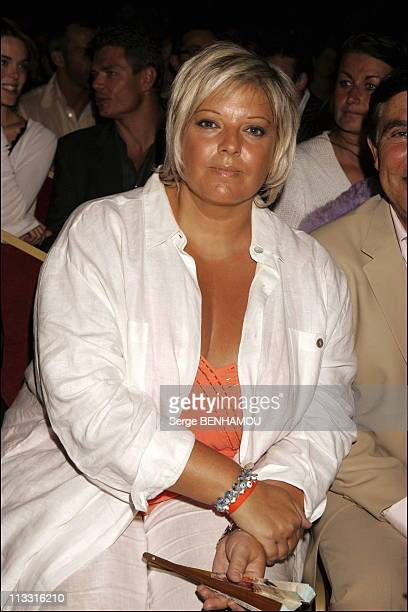 Comeback Presse Conference Of Tf1 On August 29Th 2005 In Paris France Here Laurence Boccolini