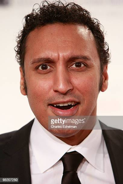 Comedian Aasif Mandvi attends the RFK Center Ripple of Hope Awards dinner at Pier Sixty at Chelsea Piers on November 18 2009 in New York City