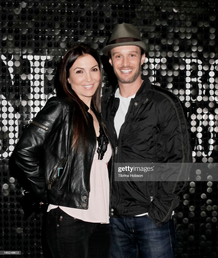 Comedian, actor, and writer Josh Wolf his book signing with wife Bethany Wolf 'It Takes Balls' at Skin Body Lounge on April 1, 2013 in Studio City, California.