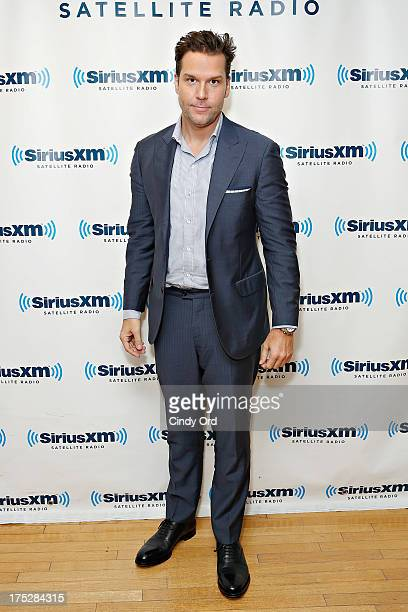 Comedian/ actor Dane Cook visits the SiriusXM Studios on August 1 2013 in New York City