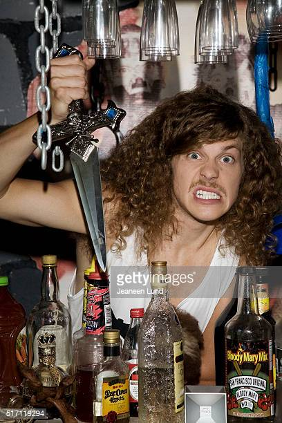 Comedian actor producer and screenwriter Blake Anderson is photographed for Bust Magazine on October 1 2011 in Los Angeles California