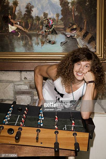 Comedian, actor, producer, and screenwriter Blake Anderson is photographed for Bust Magazine on October 1, 2011 in Los Angeles, California.