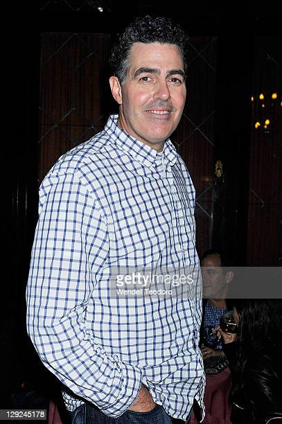 Comedian Adam Carolla attends the after party for the 2011 Friars Comedy Club Film Festival screening of 'The Other F Word' at the New York Friars...