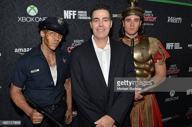 Comedian Adam Carolla attends Variety's 4th Annual Power of Comedy presented by Xbox One benefiting the Noreen Fraser Foundation at Avalon on...