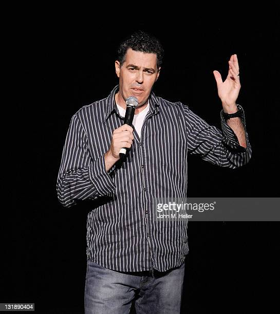 Comedian Adam Carolla celebrates the release of his new book 'In Fifty Years We'll All Be Chicks' on May 21 2011 in Los Angeles California