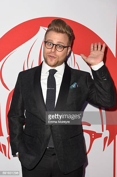 Comedian Adam Conover attends the screening and reception for truTV's 'Adam Ruins Everything' at The Library at The Redbury on August 18 2016 in...