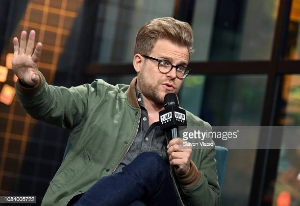 Comedian Adam Conover visits Build to discuss comedy series 'Adam Ruins Everything' at Build Studio on January 17 2019 in New York City