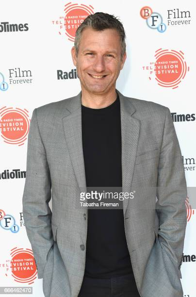 Comedian Adam Hills attends the BFI Radio Times TV Festival at BFI Southbank on April 9 2017 in London England