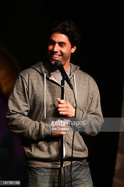 """Comedian Adam Ray performs at """"A Benefit For RX Laughter"""" presented by Junior Hollywood Radio & Television at Jon Lovitz Comedy Club on July 8, 2010..."""