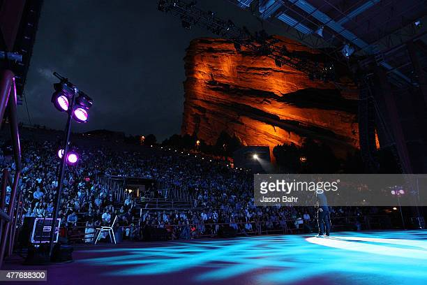 Comedian Adam Ray performs during the opening night of SeriesFest at Red Rocks Amphitheatre on June 18 2015 in Morrison Colorado