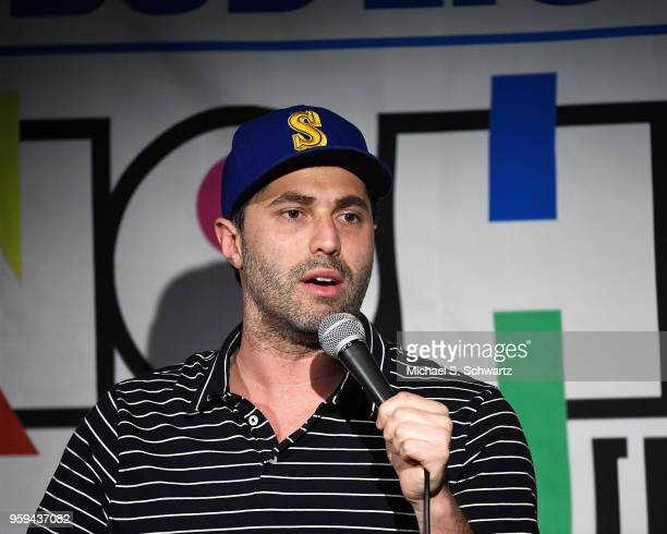 Comedian Adam Ray performs on day two of the NOHO Comedy Festival at Ha Ha Cafe Comedy Club on May 16 2018 in North Hollywood California