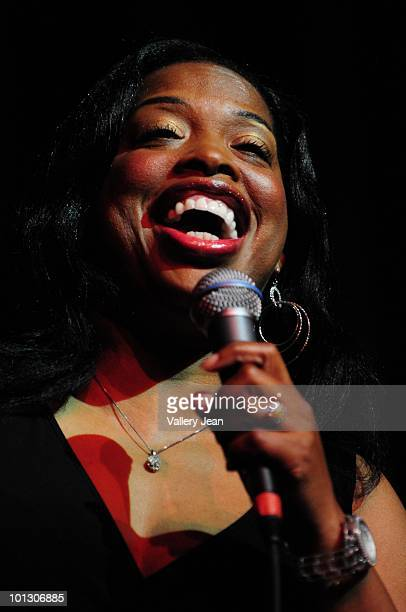Comedian Adele Givens performs during 3rd Annual Memorial Weekend Comedy Festival at the James L Knight Center on May 30 2010 in Miami Florida