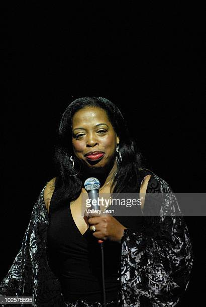 Comedian Adele Givens performs during 3rd Annual Memorial Weekend Comedy Festival at James L Knight Center on May 30 2010 in Miami Florida