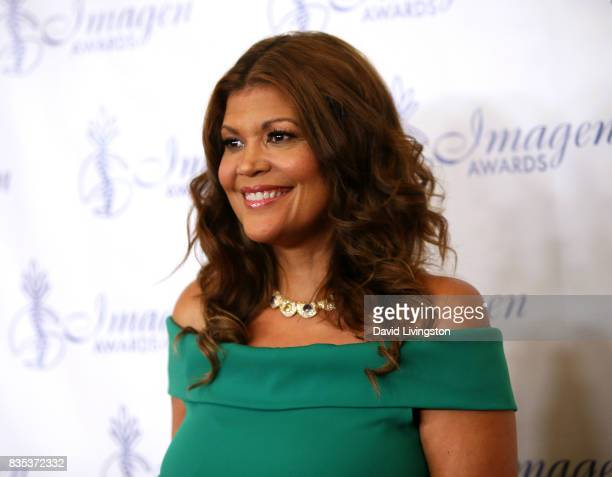 Comedian Aida Rodriguez attends the 32nd Annual Imagen Awards at the Beverly Wilshire Four Seasons Hotel on August 18 2017 in Beverly Hills California