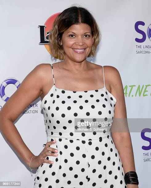 Comedian Aida Rodriguez attends the SarcomaOma Foundation Comedy Benefit at The Laugh Factory on June 6 2018 in West Hollywood California