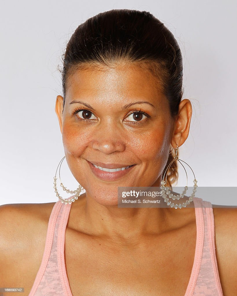 Comedian Aida Rodriguez poses after her performance at The Ice House Comedy Club on May 11, 2013 in Pasadena, California.