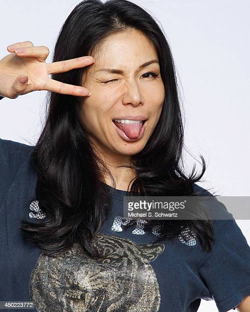 Comedian Aiko Tanaka poses after her performance at The Ice House Comedy Club on June 6 2014 in Pasadena California