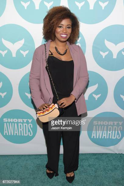 Comedian Akilah Hughes attends the 9th Annual Shorty Awards at PlayStation Theater on April 23 2017 in New York City