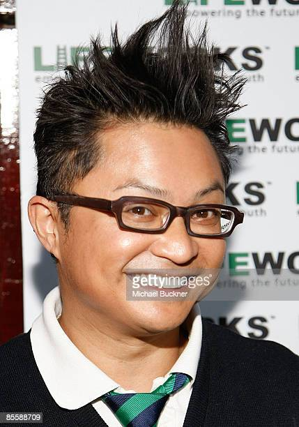 Comedian Alev Mapa attends the Laugh Out Loud Comedy Benefit for Lifeworks Mentoring at the Laugh Factory on March 24 2009 in West Hollywood...