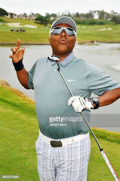 Comedian Alex Thomas attends the 2017 BET Experience golf event at Monarch Beach Golf Course on June 23 2017 in Dana Point California