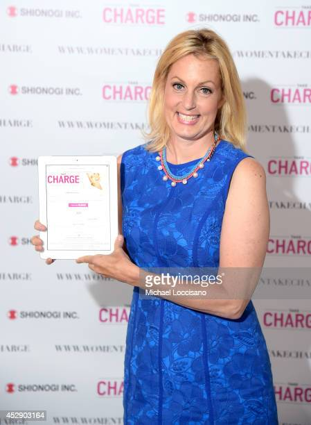 Comedian Ali Wentworth Teams Up with Shionogi Inc to Launch Women Take Charge Campaign at Robert Restaurant on July 29 2014 in New York City