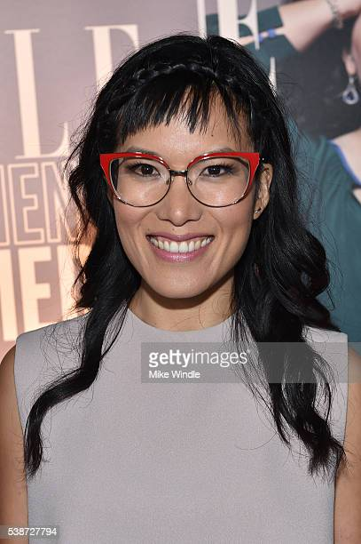 Comedian Ali Wong attends ELLE Women In Comedy event hosted by ELLE EditorinChief Robbie Myers and Leslie Jones Melissa McCarthy Kate McKinnon and...
