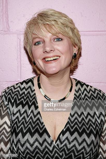 Comedian Alison Arngrim performs at the Cutting Room on August 13 2008 in New York City