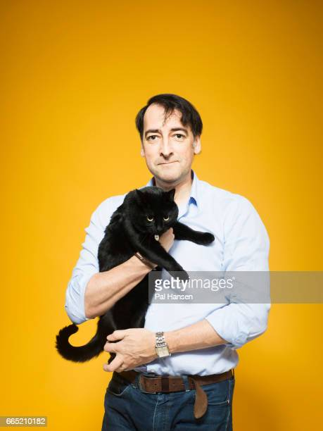 Comedian Alistair McGowan is photographed for VIP magazine on January 28 2016 in London England