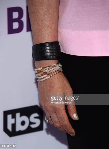 Comedian Allana Harkin jewelry detail arrives at TBS' Full Frontal With Samantha Bee For Your Consideration Event at the Samuel Goldwyn Theater on...