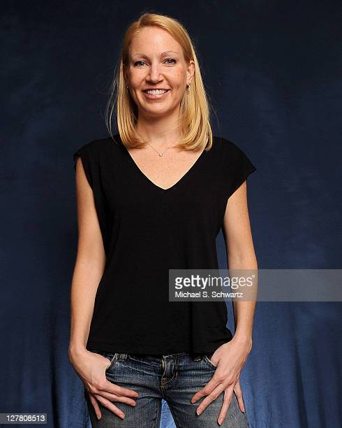 Comedian Alli Breen poses at The Ice House Comedy Club on March 19 2011 in Pasadena California